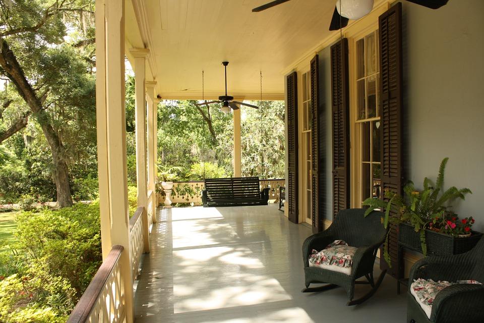 Installing a porch